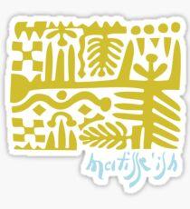 wearable art Matisse fake Sticker