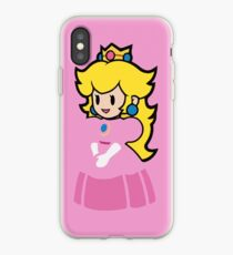 Minimalist Princess Peach iPhone Case