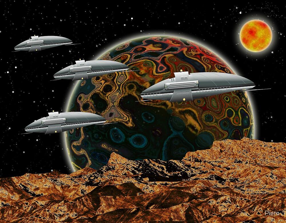 The Fleet by Piero