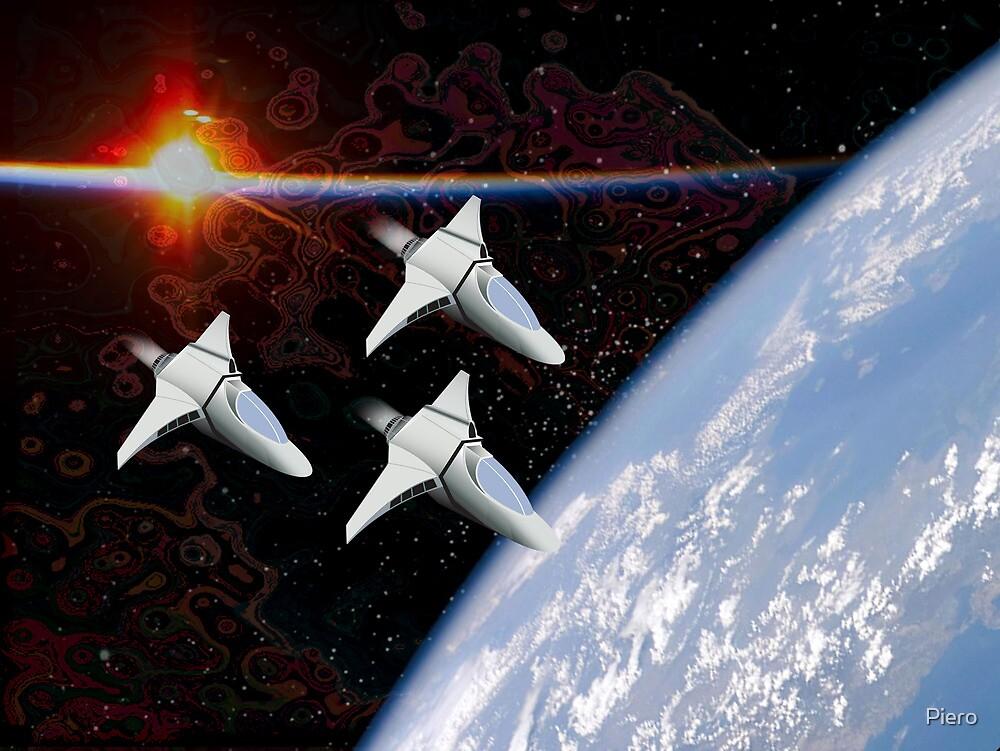 Starfighters by Piero
