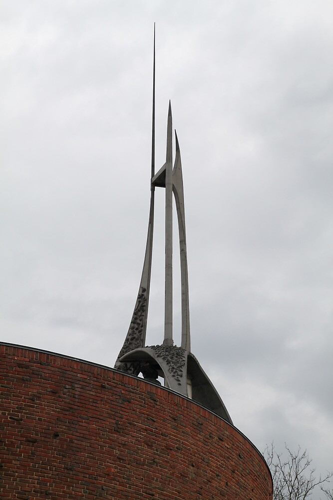 MIT Chapel Spire by Jane McDougall