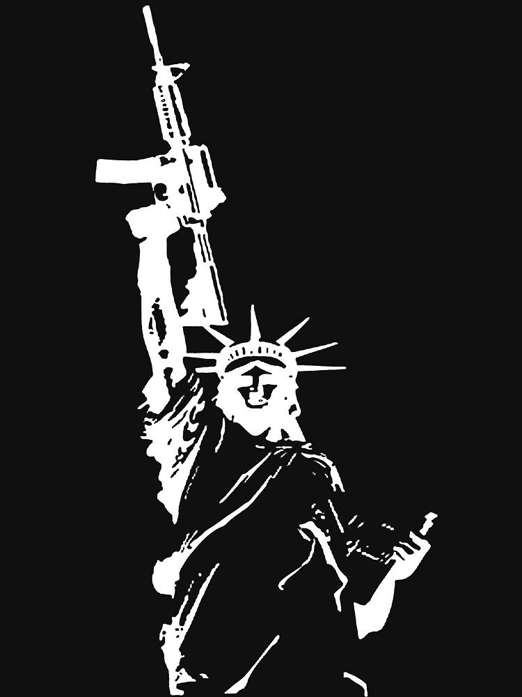 Statue of Liberty with m4a1 | Unisex T-Shirt