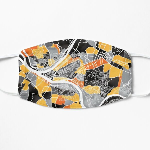 Pittsburgh Map Mask