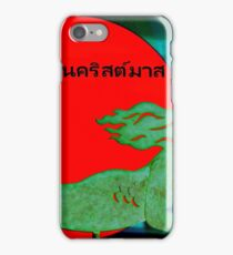 Christmas Mermaid - Thai iPhone Case/Skin