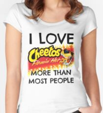 Hot Cheetos Women's Fitted Scoop T-Shirt