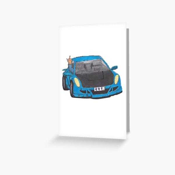 Juice Wrld Goodbye and Good Riddance Greeting Card