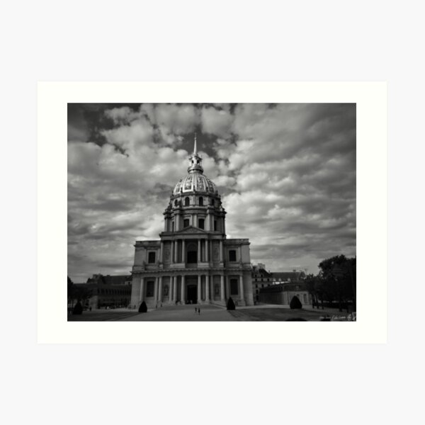 Dome Church of Les Invalides Art Print