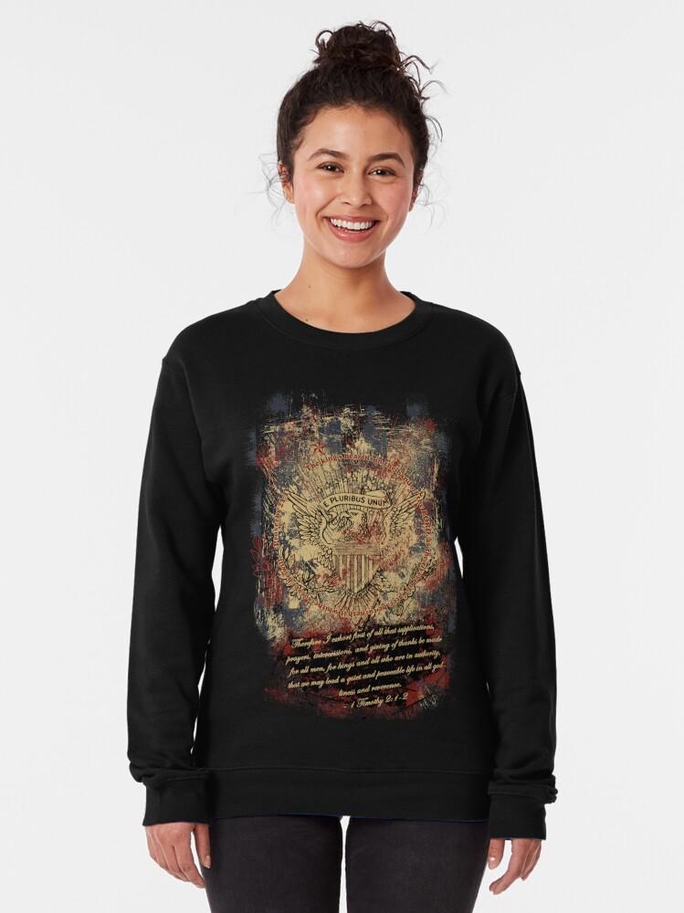 Alternate view of E Pluribus Unum Pullover Sweatshirt