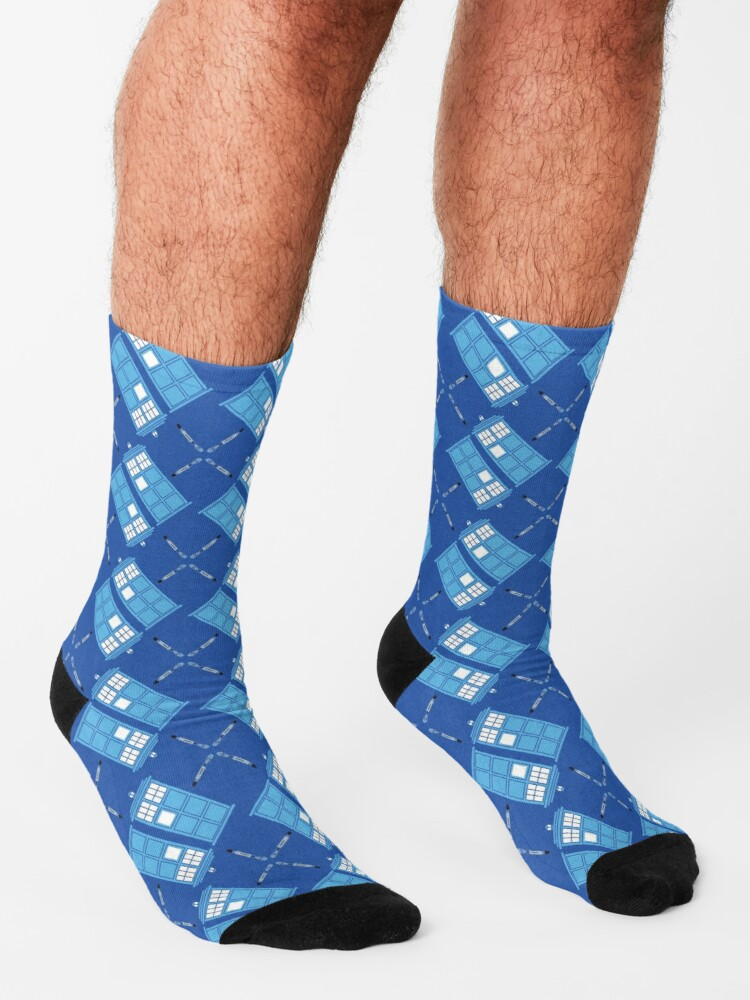 Alternate view of Gallifrey Argyle Socks