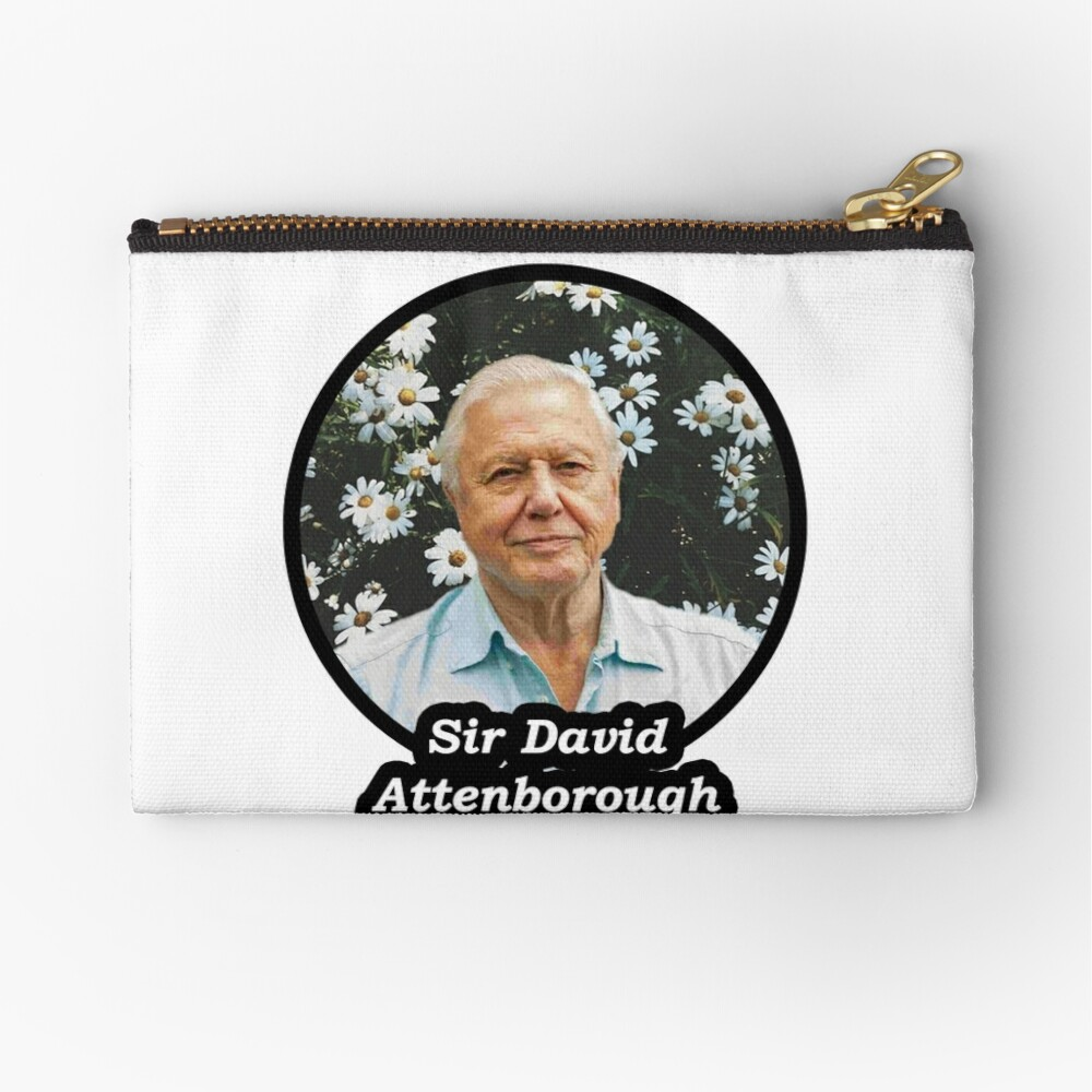 Sir David Attenborough Täschchen