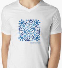 Bright Blue Sky Men's V-Neck T-Shirt