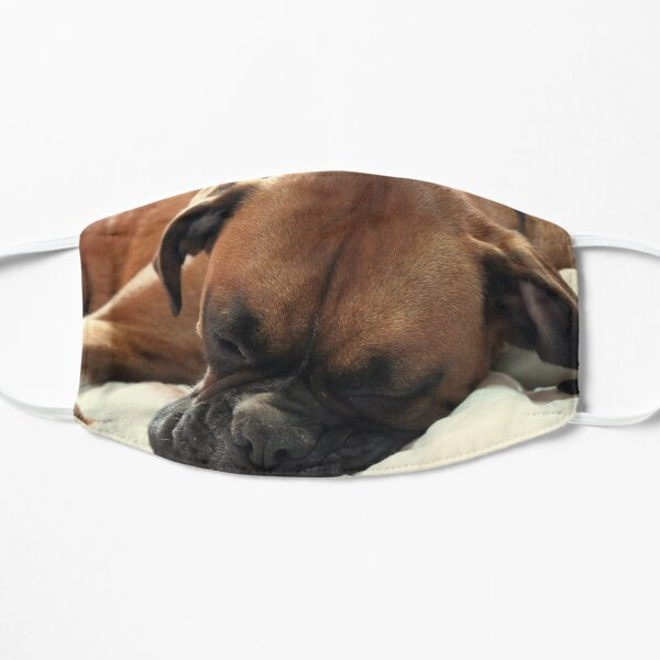 Afternoon Nap - Boxer Dogs Series Mask