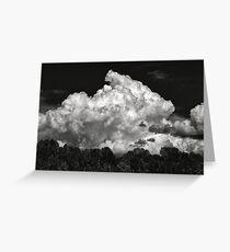 Thunder Cloud Greeting Card