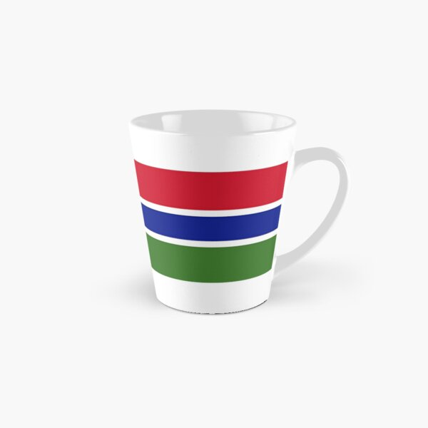 Gambian Flag Gifts, Stickers & other Products  Tall Mug