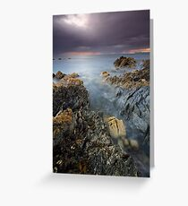 """The Edge of Tomorrow"" ∞ Rocky Cape N.P, Tasmania - Australia Greeting Card"