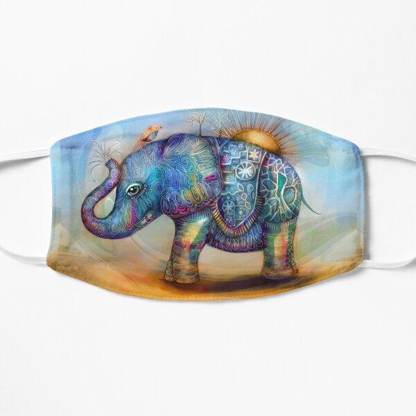 magic rainbow elephant Mask