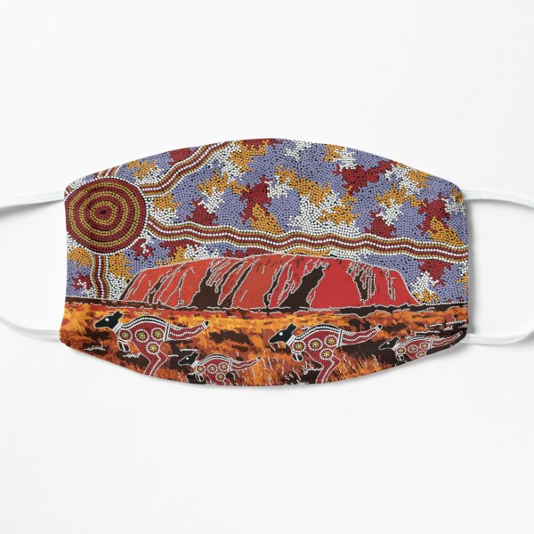 Uluru | Ayers Rock - Authentic Aboriginal Arts Mask