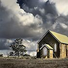 Country Church ... colour version by Rosalie Dale