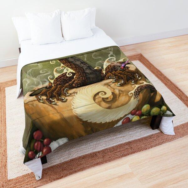 Coffee Dragon Comforter
