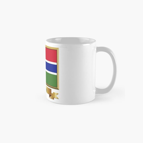 Gambian Flag Gifts, Stickers & Products - Named Classic Mug