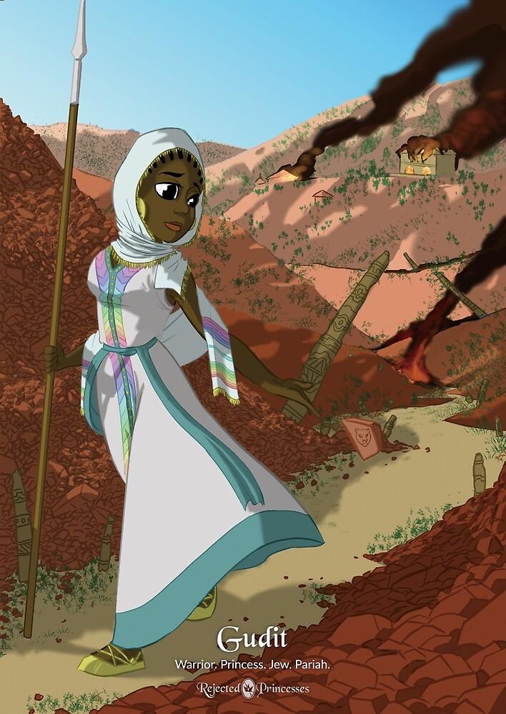 Gudit - Rejected Princesses by jasonporath