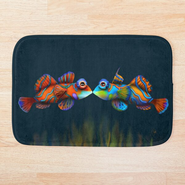 Mandarinfish Bath Mat