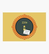 221B Bag End Photographic Print