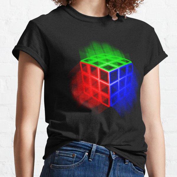 Glowing Rubix Cube Classic T-Shirt