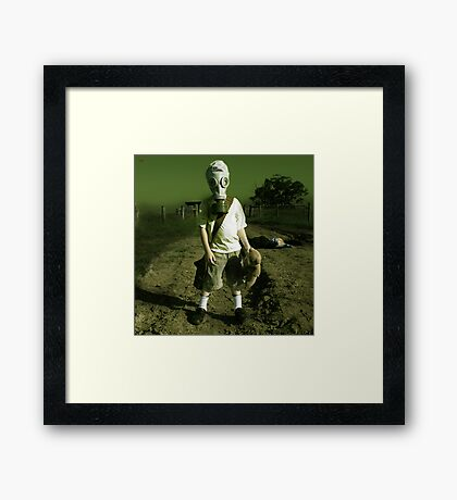 The Innocent Weapon Framed Print