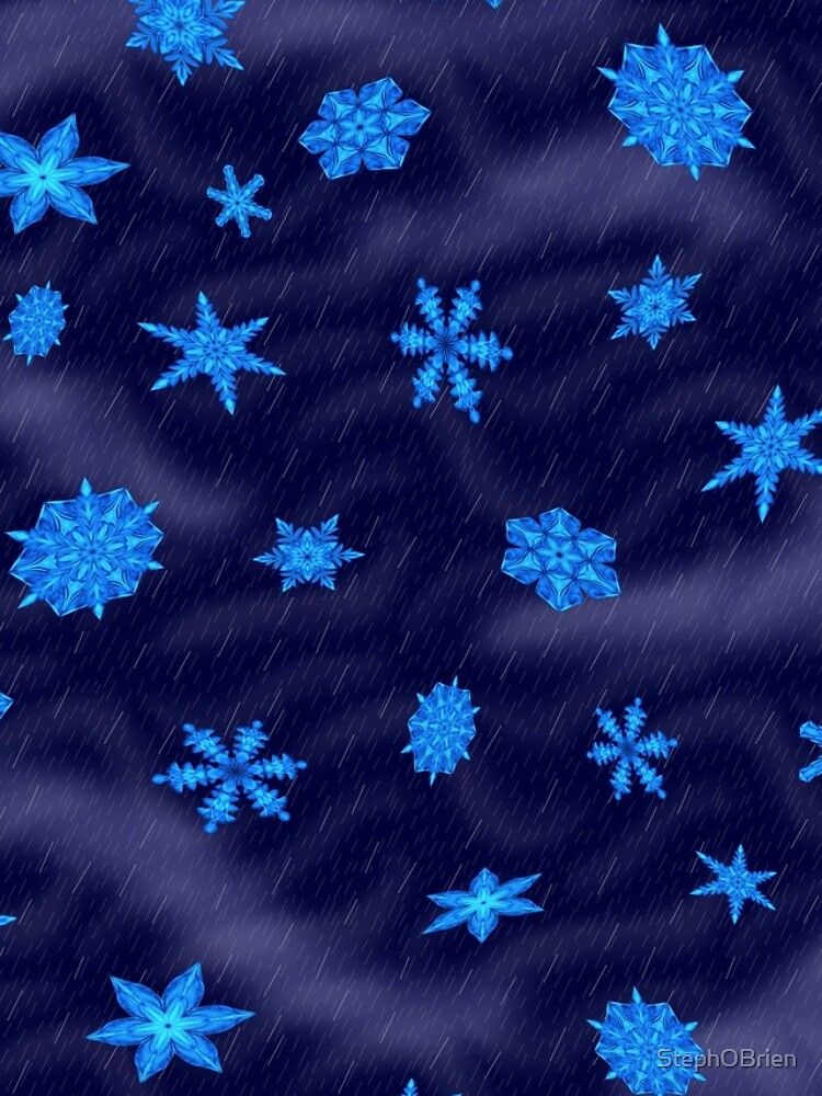 Drifting Snowflake, Gentle Rain by StephOBrien