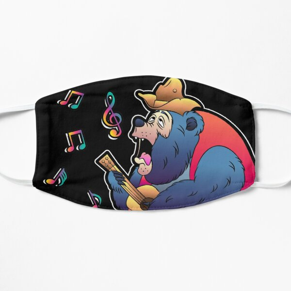Big Al Neon Flat Mask