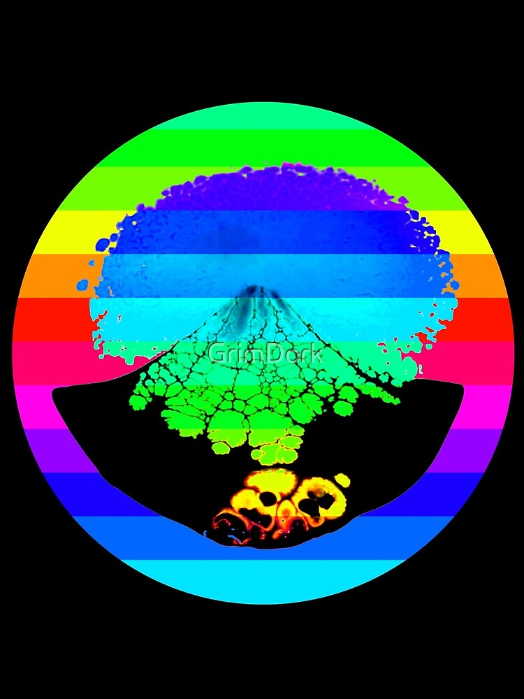 Rainbow Volcano  by GrimDork