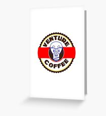Venture Brothers/Venture Industries Coffee Greeting Card