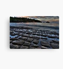 Tessellated Pavement Canvas Print