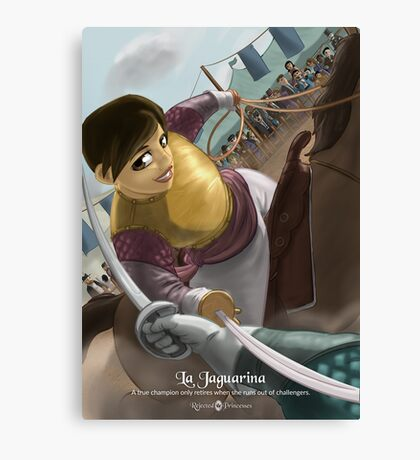 La Jaguarina - Rejected Princesses Canvas Print