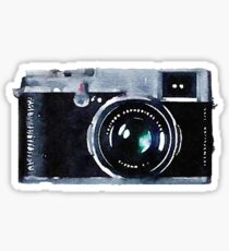 Watercolor Camera | Trendy/Hipster/Tumblr Meme Sticker
