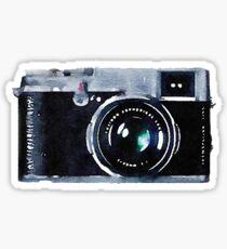 Watercolor Camera | Trendy/Hipster/Tumblr Meme Sticker