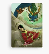 Li Chi - Rejected Princesses Canvas Print