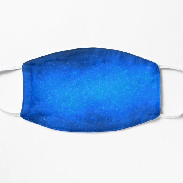 Blue Galaxy Flat Mask