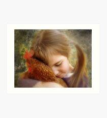 """A Child's Tenderness....."" Art Print"