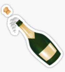 Knall den Champagner! Neues Emoji | Hipster / Tumblr / Modisches Meme Sticker