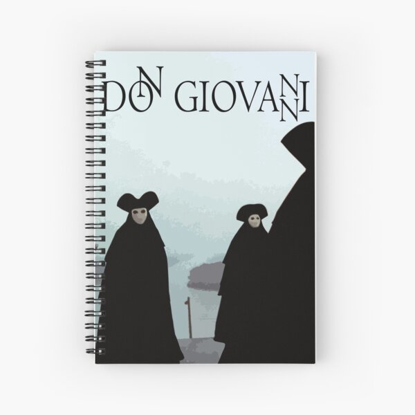 Don Giovanni Spiral Notebook