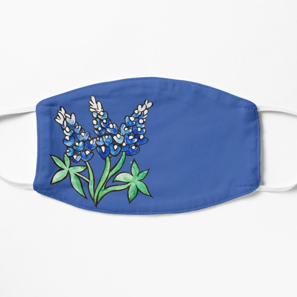 Texas Bluebonnets Mask