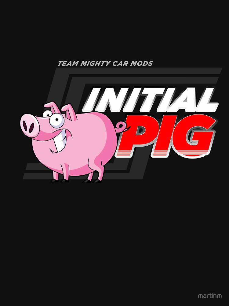 Initial Pig Shirt | Unisex T-Shirt