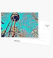 Water Tower Postcards