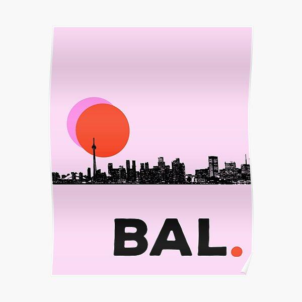 Baltimore Skyline Poster