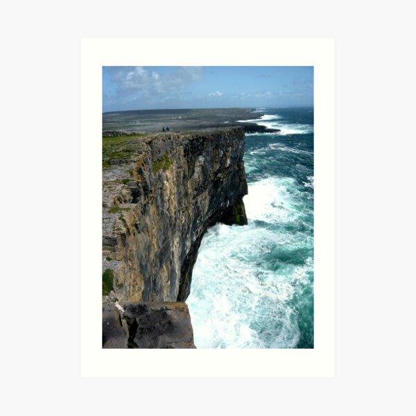 Cliffs of Inishmore Art Print