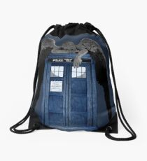 Weeping For The Doctor Drawstring Bag