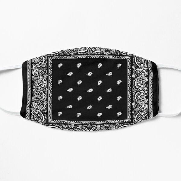 Bandana Black Flat Mask