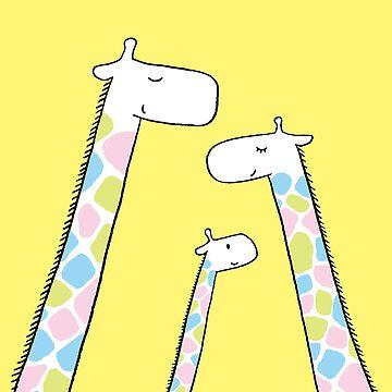 Giraffe family by taichi